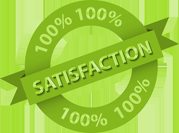 Satisfaction banner