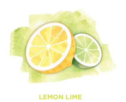 Lemon lime Bevi Cooler water flavor