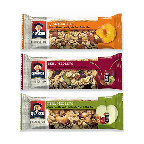Quaker Oats medley bars