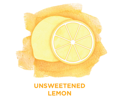 Unsweetened lemon Bevi Cooler water flavor