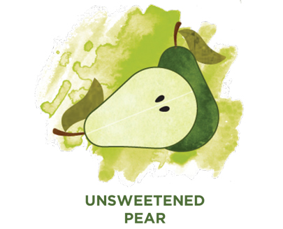 Unsweetened pear Bevi Cooler water flavor