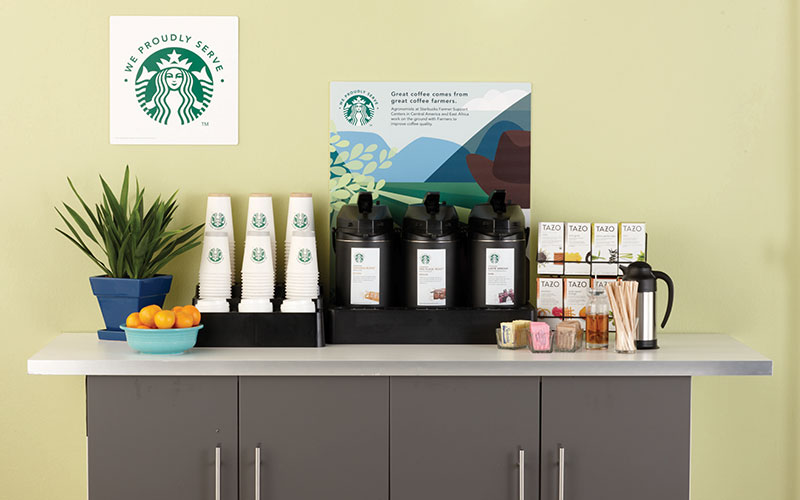 Green Bay & Northeast Wisconsin Starbucks coffee service